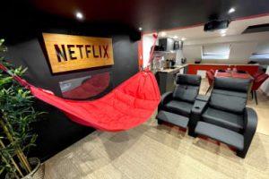 """Appart Hotel """"Capsule Cinema"""" à Valenciennes avec Netflix"""
