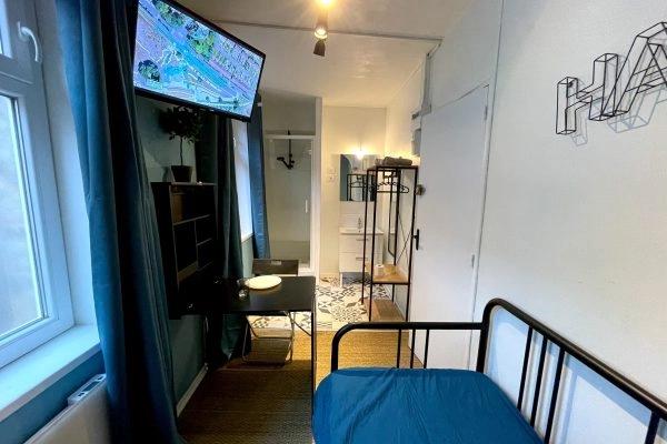 """Appart Hotel """"Capsule 12 Famars"""" à Valenciennes"""