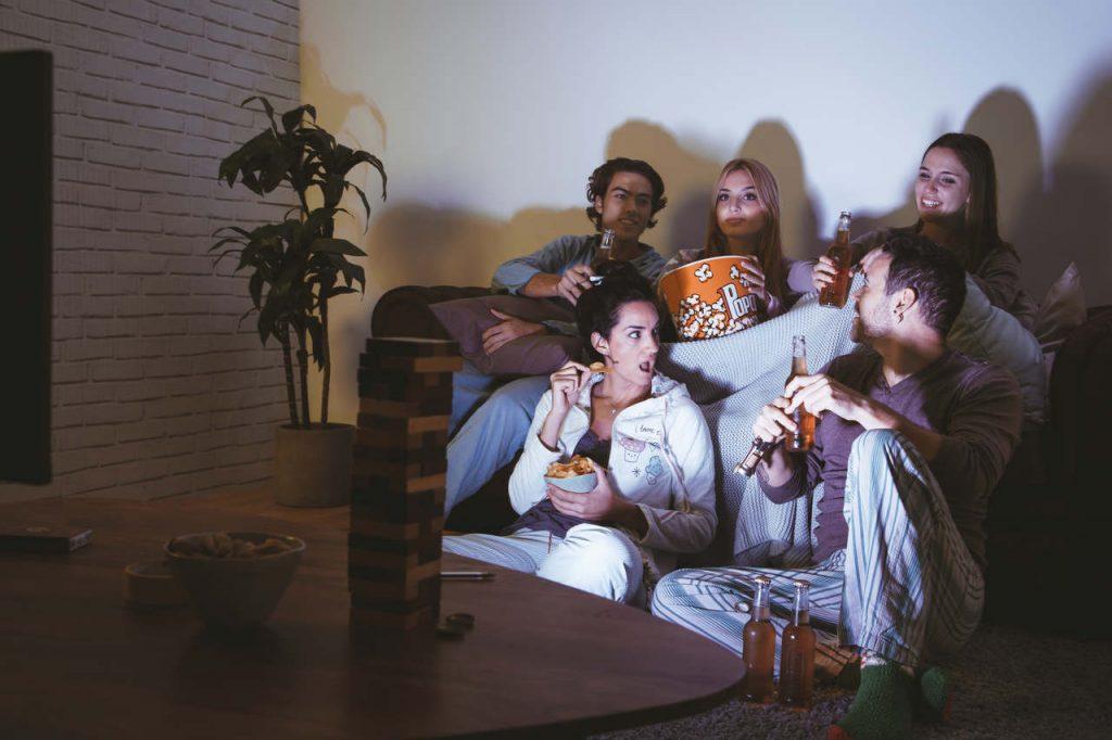 weekend, soirée entre amis ou en famille